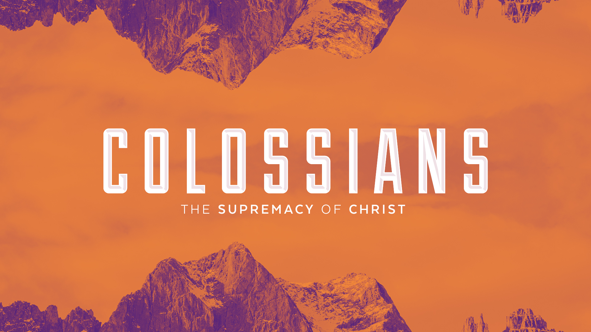 Colossians – Week Three