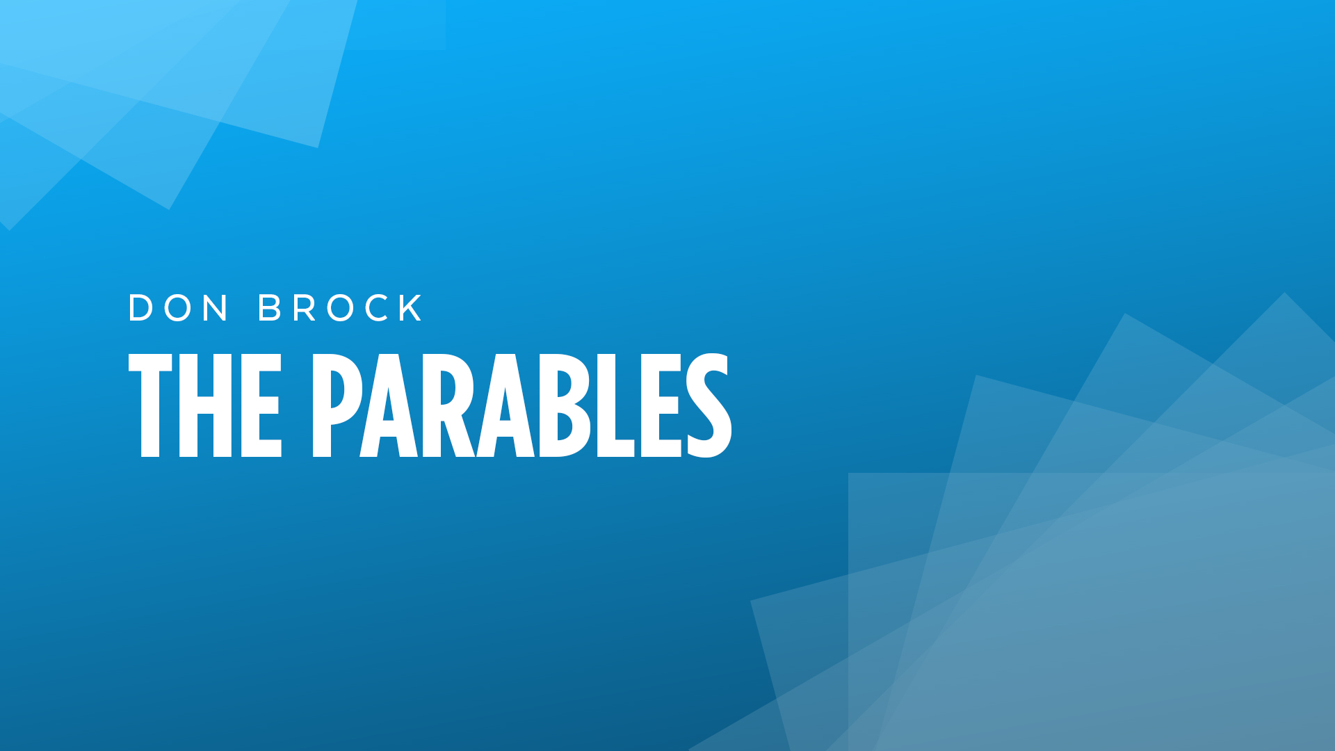 The Parables | Week Two | Battle of the Kingdom of God