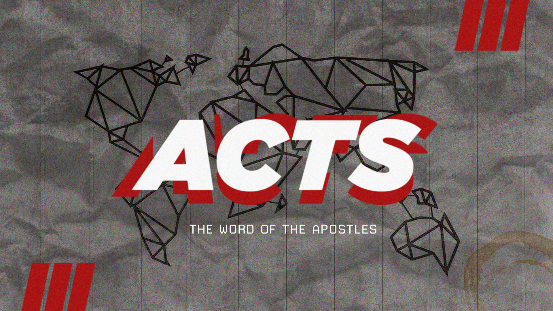 Book of Acts: Week One
