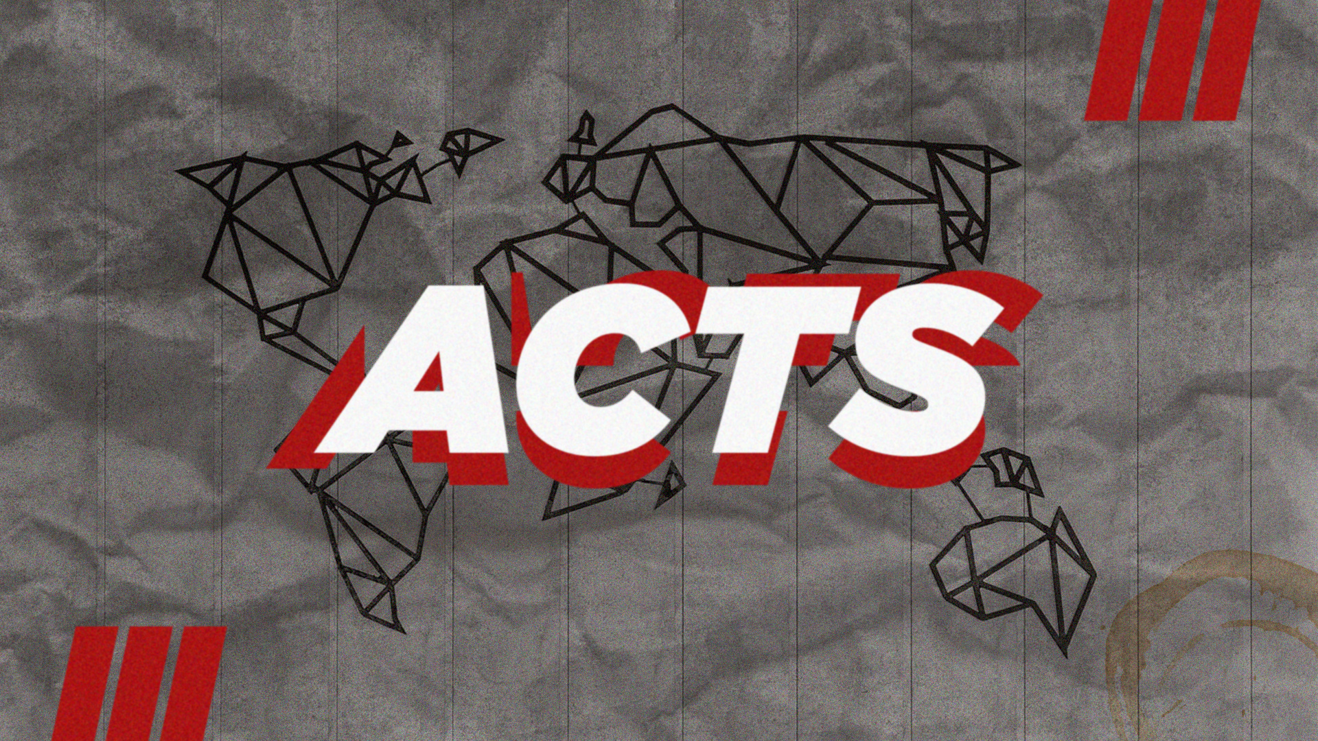 Book of Acts: Week Three