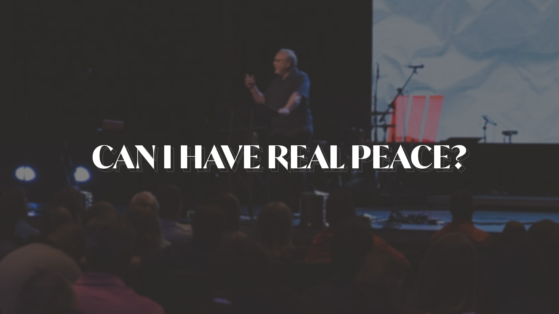 Can I Have Real Peace?